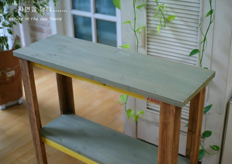 주방 베란다에 필요한 빈티지 사이드 테이블