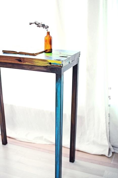 사이드테이블 만들기- 윤현상재 빈티지고재