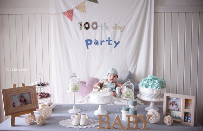 Baby 39 s 100th day on pinterest 100th day celebrations for 100th birthday decoration ideas
