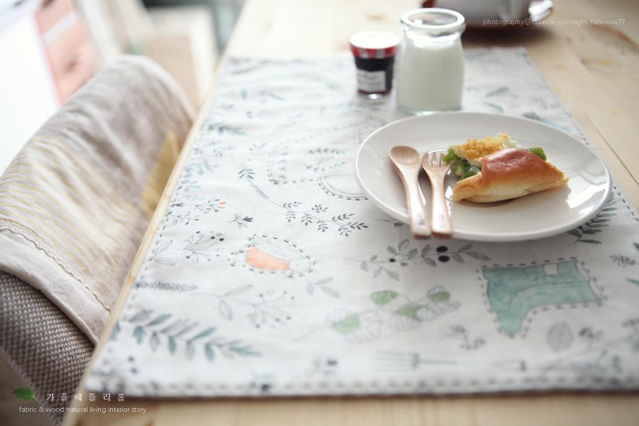 주방소품 테이블매트, 식탁매트 만들기