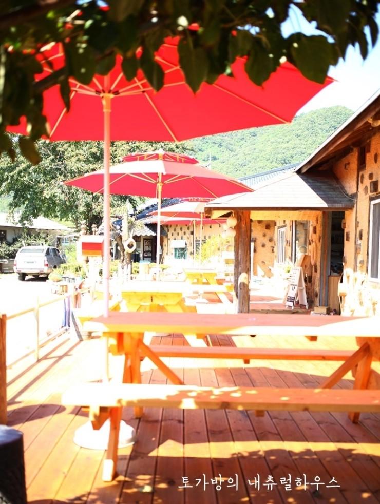 파파나무 피크닉 테이블 만들기-카페 데크 만들기