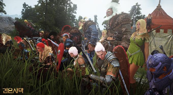 검은사막이 오픈 베타 이후 RPG 장르 게임 가운데 점유율 1위를 차지해 관심을 받고 있다. / 검은사막 홈페이지 캡처