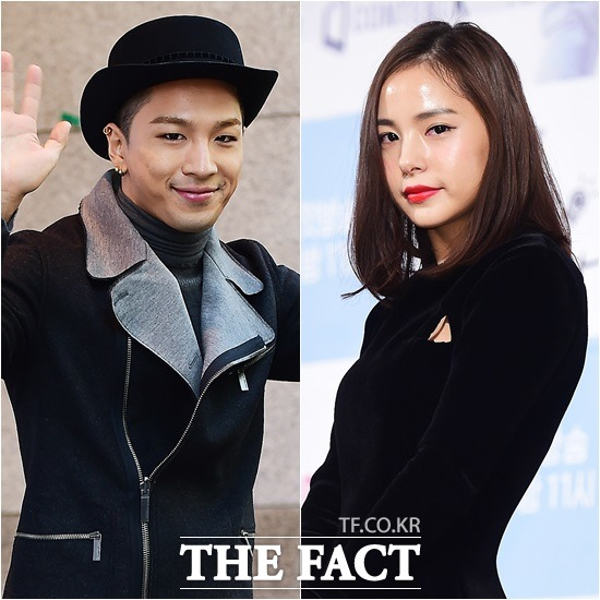 태양 민효린 열애 인정, YG-JYP 커플 탄생…예쁘게 봐 달라