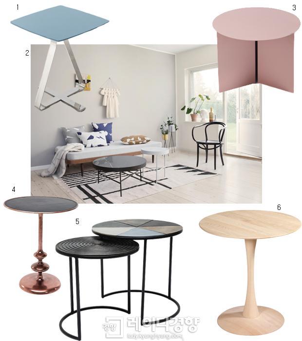 봄날의 티 테이블