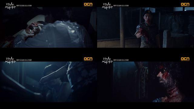 '타인은 지옥이다' 3,4회에서는 고문, 살인 장면이 묘사됐다. /OCN '타인은 지옥이다' 방송 캡처