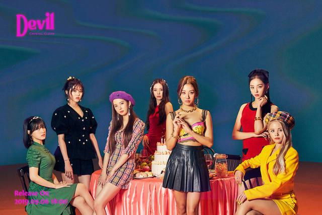신곡 'Devil'로 활동 중인 걸그룹 씨엘씨(CLC)가 빌보드 소셜50 차트에 47위로 진입했다. /큐브엔터 제공