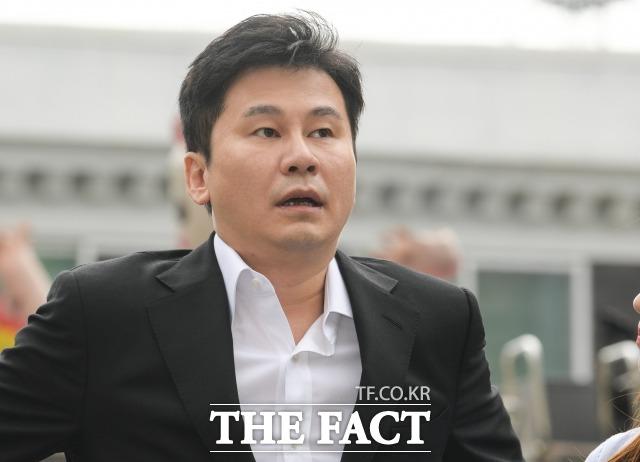 양현석 전 YG엔터테인먼트 대표 프로듀서의 성매매 알선 혐의가 불기소 의견으로 검찰에 송치된다. /김세정 기자