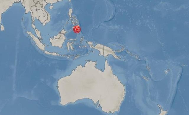 기상청은 16일 저녁 8시37분쯤 필리핀 콜럼비오 동북동쪽 7km 지역에서 규모 6.4의 지진이 발생했다고 미지질조사소(USGS) 분석 결과를 인용해 밝혔다. /기상청 국외지진정보
