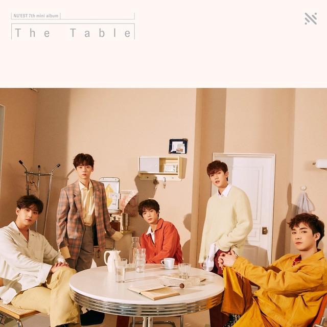 뉴이스트가 21일 오후 6시 새 앨범 'The Table'을 발표한다. /플레디스 제공