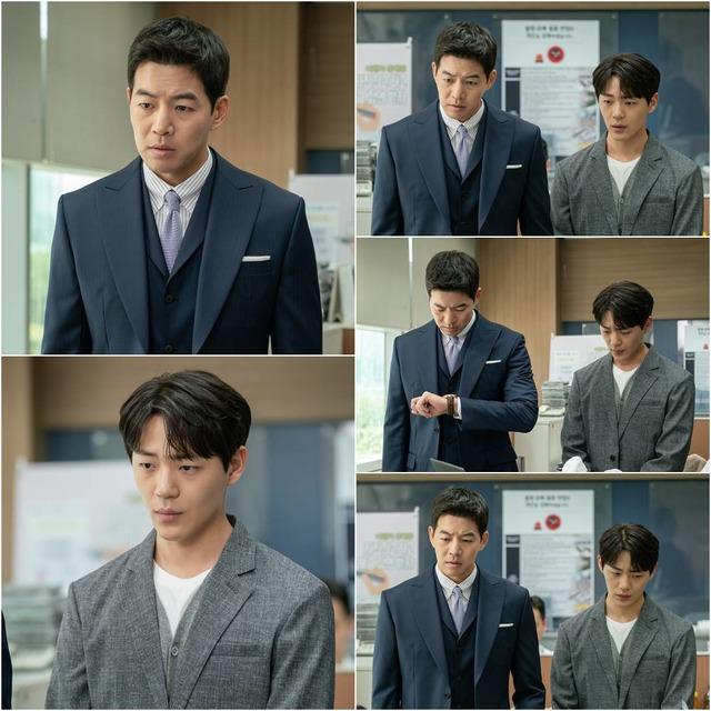 배우 이상윤과 신재하가 'VIP'에서 공항 관세청 직원으로 변신한다. /SBS 제공