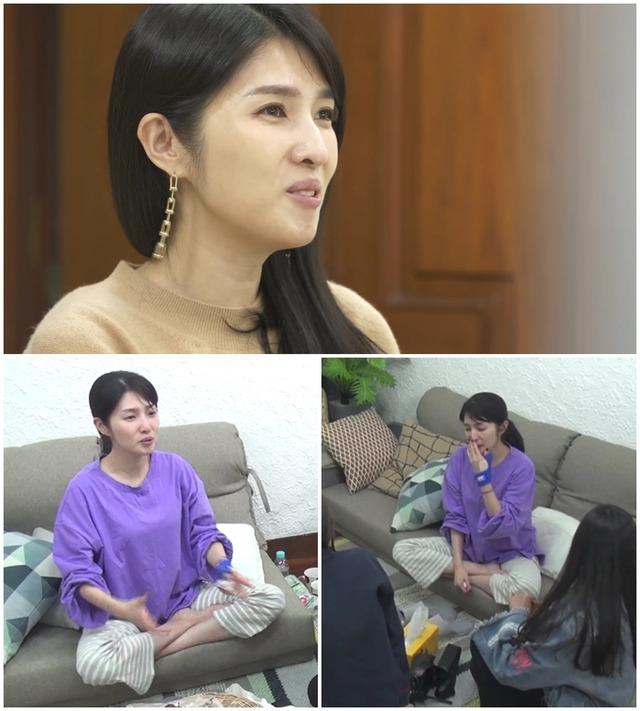 방송인 김경란이 MBN '우다사'에서 속내를 털어놓는다. /MBN 제공