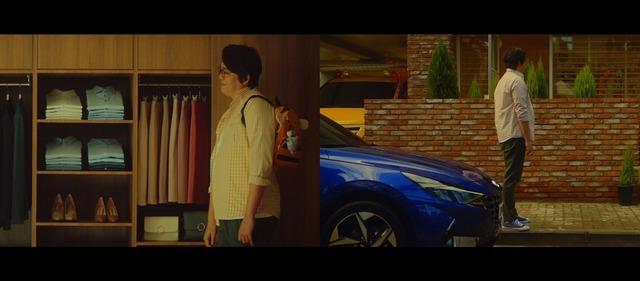 故(고) 문지윤이 마지막으로 촬영한 자동차 광고는 오는 4월 7일 공개된다. /가족이엔티 제공