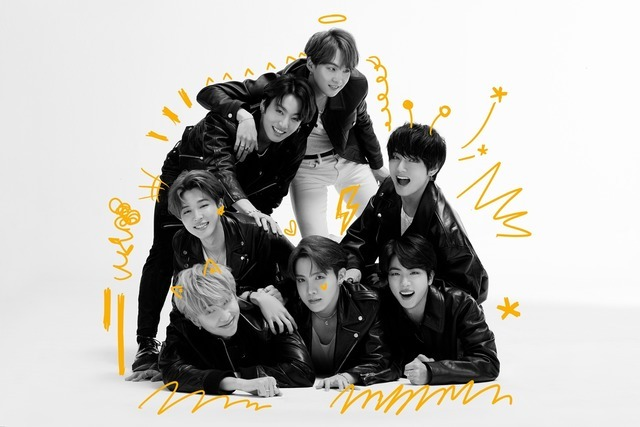 방탄소년단이 4번째 정규앨범 'MAP OF THE SOUL : 7'으로 426만 장의 판매고를 올려 가온차트 상반기 앨범 판매량 1위에 올랐다. /빅히트엔터테인먼트 제공