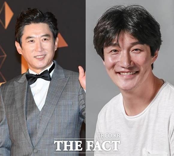 배우 김원해(왼쪽)와 허동원이 코로나19 '음성' 판정을 받아 10월부터 예정되어 있던 작품 활동을 이어간다고 밝혔다. /더팩트 DB·에이스팩토리 제공