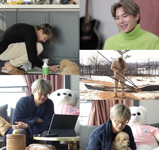 배우 박은석이 22일 방송 예정인 MBC '나 혼자 산다'에 출연해 소탈한 일상을 공개한다. /MBC 제공