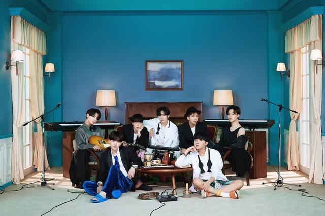 방탄소년단이 지난해 11월 발표한 앨범 'BE'가 3월 6일 자 미국 빌보드 메인 앨범 차트인 빌보드200 7위에 올랐다. 직전 차트 순위 74위에서 무려 67단계 상승했다. /빅히트 제공
