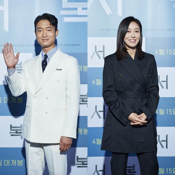 조우진(왼쪽)과 장영남은 박보검에 관한 촬영 비하인드를 공개했다. /CJ ENM 제공