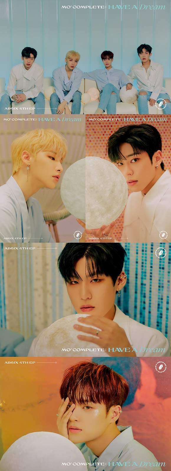 그룹 AB6IX가 새 앨범의 두 번째 콘셉트를 공개했다. 멤버들 특유의 시니컬한 분위기는 팬들의 눈길을 단숨에 사로잡았다. /브랜뉴뮤직 제공