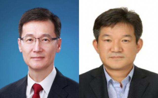 부장검사에는 판사 출신의 최석규 변호사(왼쪽)와 검사 출신의 김성문 변호사를 임명했다. /공수처 제공
