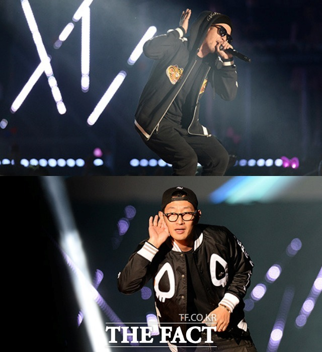 DJ DOC 이하늘(사진 위) 김창열이 故 이현배의 죽음을 두고 갈등을 빚었다. /더팩트 DB