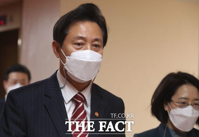 오세훈 서울시장이 7일 자신의 SNS에 취임 한 달을 맞아 소회를 밝혔다. /임영무 기자