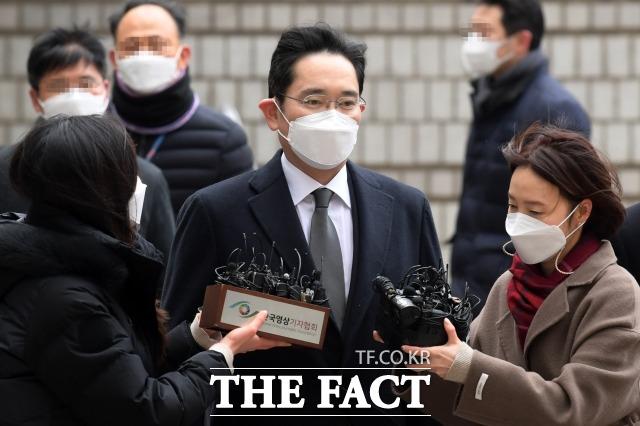 이재용(사진) 삼성전자 부회장 재판에서 이른바 '프로젝트G' 문건이 공개됐다. /남용희 기자