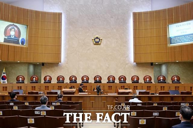 대법관 이동에 따라 대법원 재판부 구성이 달라진다. 사진은 대법원 전원합의체 법정. /대법원 제공