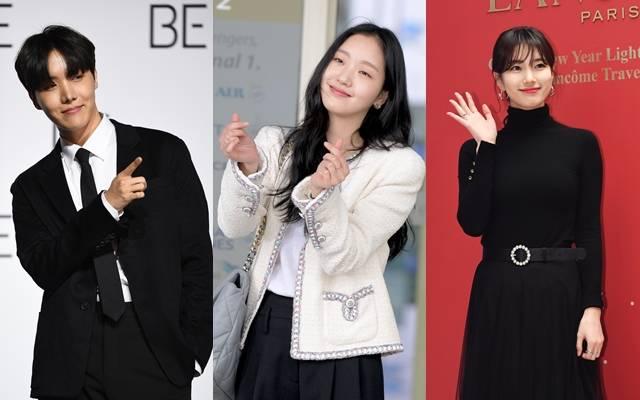 방탄소년단 제이홉, 배우 김고은과 배수지(왼쪽부터 차례대로)는 어린이날을 맞아 기부하며 훈훈한 마음을 전했다. /더팩트 DB