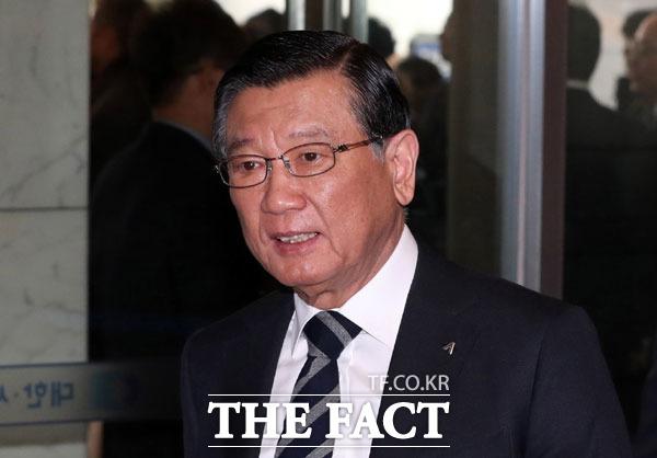 검찰이 '계열사 부당지원' 의혹을 받는 박삼구 전 금호아시아나그룹 회장에 대해 구속영장을 청구했다. /임세준 기자