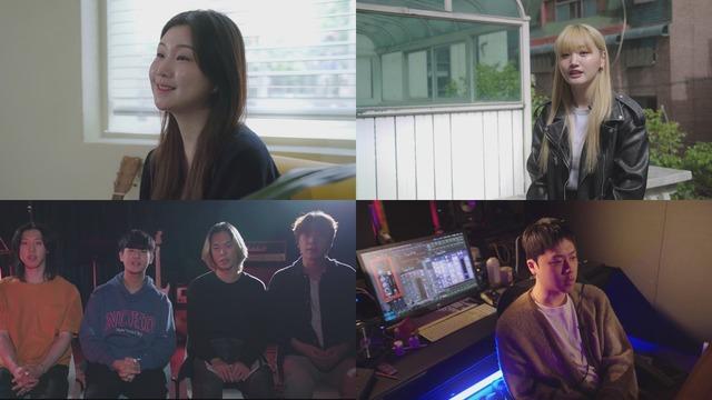 김수영, 쏠(SOLE), 라쿠나(Lacuna), 준(JUNE) 등 '뮤즈온 2020'에 선정됐던 뮤지션들이 \